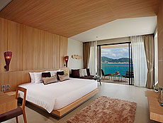 プーケット インターネット接続(無料)のホテル : カリマ リゾート & スパ(1)のお部屋「グランド デラックス シービュー」
