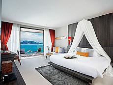 プーケット パトンビーチのホテル : カリマ リゾート & スパ(1)のお部屋「ハネムーン シービュー」