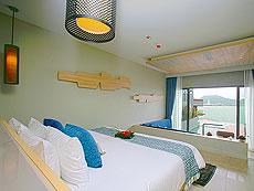 プーケット パトンビーチのホテル : カリマ リゾート & スパ(1)のお部屋「ダブル プール アクセス」