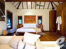 サムイ島 プールヴィラのホテル : カマラヤ コ サムイ(1)のお部屋「ビラ シービュー(ダブル)」