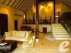 サムイ島 プールヴィラのホテル : カマラヤ コ サムイ(1)のお部屋「ロックトップヴィラ2ベッドルーム(シングル)」