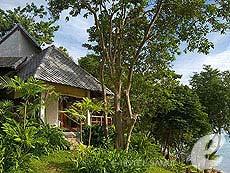 サムイ島 プールヴィラのホテル : カマラヤ コ サムイ(1)のお部屋「ビーチフロント ヴィラ(ダブル)」