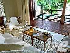 サムイ島 プールヴィラのホテル : カマラヤ コ サムイ(1)のお部屋「ビーチフロント プールヴィラ 1ベッドルーム(ダブル)」