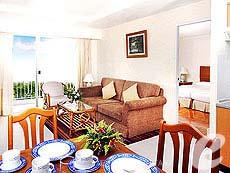 パタヤ シラチャーのホテル : カメオ ハウス シラチャー(1)のお部屋「1ベッドルーム」
