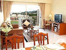 パタヤ シラチャーのホテル : カメオ ハウス シラチャー(1)のお部屋「2ベットルーム」