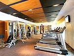 チェンマイ ニマンヘミン通りのホテル : カンタリー ヒルズ ホテル & サービスド アパートメント チェンマイ 「Fitness」