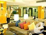 バンコク スワンナプーム空港周辺のホテル : カンタリーハウス & サービス アパートメント バンコク 「Lobby」