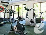 バンコク スワンナプーム空港周辺のホテル : カンタリーハウス & サービス アパートメント バンコク 「Fitness」
