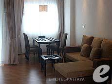 パタヤ シラチャーのホテル : カラブニング リゾート & スパ(1)のお部屋「2ベッドルーム」