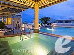 パタヤ サービスアパートのホテル : カラベル ハウス シラチャー 「Swimming Pool」