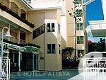 パタヤ サービスアパートのホテル : カラベル ハウス シラチャー 「Entrance」