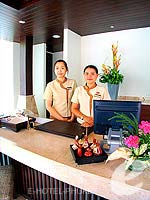 Spa Reception : Kata Beach Resort & Spa, with Spa, Phuket