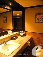 プーケット フィットネスありのホテル : カタ ビーチ リゾート(Kata Beach Resort & Spa)のスーペリアルームの設備 Bathroom