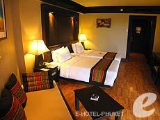 プーケット フィットネスありのホテル : カタ ビーチ リゾート(1)のお部屋「スーペリア」