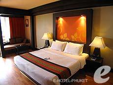 プーケット カップル&ハネムーンのホテル : カタ ビーチ リゾート(1)のお部屋「デラックス」