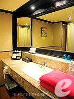 プーケット 10,000~20,000円のホテル : カタ ビーチ リゾート(Kata Beach Resort & Spa)のグランド プールアクセスルームの設備 Bath Room