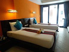 プーケット カタビーチのホテル : PGS ホテルズ カサ デル ソル(1)のお部屋「デラックス」
