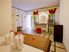 プーケット ファミリー&グループのホテル : カタ カントリー ハウス(1)のお部屋「スタンダード(ダブル)」