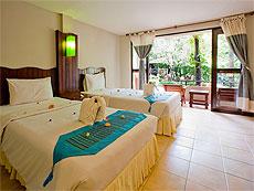 プーケット ファミリー&グループのホテル : カタ カントリー ハウス(1)のお部屋「スーペリア」