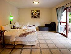 プーケット ファミリー&グループのホテル : カタ カントリー ハウス(1)のお部屋「デラックス」