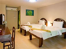 プーケット ファミリー&グループのホテル : カタ カントリー ハウス(1)のお部屋「バンガロー」