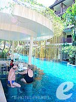 Poolside Bar : Kata Palm Resort & Spa, Pool Access Room, Phuket