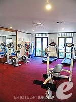 Fitness Gym : Kata Palm Resort & Spa, Pool Access Room, Phuket
