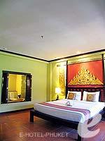プーケット フィットネスありのホテル : カタ パーム リゾート(Kata Palm Resort & Spa)のデラックスルームの設備 Bedroom