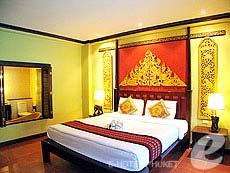 プーケット カタビーチのホテル : カタ パーム リゾート(1)のお部屋「デラックス プール アクセス」