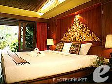 プーケット フィットネスありのホテル : カタ パーム リゾート(1)のお部屋「デラックスプールアクセスビラ」