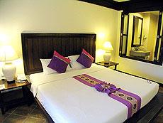 プーケット ファミリー&グループのホテル : カタ プールサイド リゾート(1)のお部屋「デラックス(シングル)」