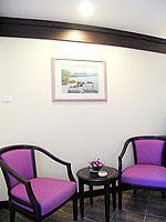 プーケット カタビーチのホテル : カタ プールサイド リゾート(Kata Poolside Resort)のデラックス (ツインベット)ルームの設備 Balcony