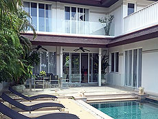 プーケット レンタル ヴィラのホテル : カタマンダ(1)のお部屋「4ベッドルーム C1」
