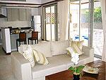 プーケット カタビーチのホテル : カタマンダ(Katamanda)の3ベッドルーム B1ルームの設備 Room View