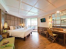プーケット ビーチフロントのホテル : カタタニ プーケット ビーチ リゾート(1)のお部屋「デラックス(ブリウィング)」