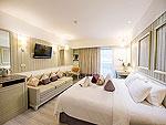 プーケット 10,000~20,000円のホテル : カタタニ プーケット ビーチ リゾート(Katathani Phuket Beach Resort)のデラックス(ブリウィング)ルームの設備 Bedroom