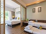 プーケット ビーチフロントのホテル : カタタニ プーケット ビーチ リゾート(Katathani Phuket Beach Resort)のグランド デラックス(ブリウィング)ルームの設備 Bedroom