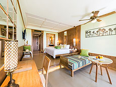 プーケット ビーチフロントのホテル : カタタニ プーケット ビーチ リゾート(1)のお部屋「ジュニア スイート(Thani Wing)」