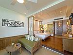 プーケット 10,000~20,000円のホテル : カタタニ プーケット ビーチ リゾート(Katathani Phuket Beach Resort)のジュニア スイート(Thani Wing)ルームの設備 Bedroom