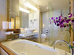 プーケット ビーチフロントのホテル : カタタニ プーケット ビーチ リゾート(Katathani Phuket Beach Resort)のジュニアスイートオーシャンフロント(タニウィング)ルームの設備 Bath Room