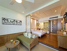 プーケット ビーチフロントのホテル : カタタニ プーケット ビーチ リゾート(1)のお部屋「ジュニアスイートオーシャンフロント(タニウィング)」
