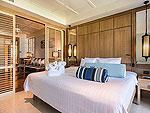 プーケット ビーチフロントのホテル : カタタニ プーケット ビーチ リゾート(Katathani Phuket Beach Resort)のグランド スイートルームの設備 Bedroom