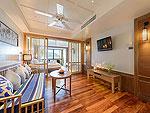 プーケット 10,000~20,000円のホテル : カタタニ プーケット ビーチ リゾート(Katathani Phuket Beach Resort)のジュニアスイートオーシャンフロント(タニウィング)ルームの設備 Living Room