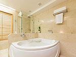 プーケット ビーチフロントのホテル : カタタニ プーケット ビーチ リゾート(Katathani Phuket Beach Resort)のグランド スイートルームの設備 Bath Room