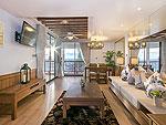 プーケット ビーチフロントのホテル : カタタニ プーケット ビーチ リゾート(Katathani Phuket Beach Resort)の2ベッドルームスイート(タニウィング)ルームの設備 Living Room