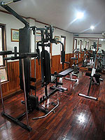 Fitness Gym : Khaolak Palm Beach Resort, Fitness Room, Phuket