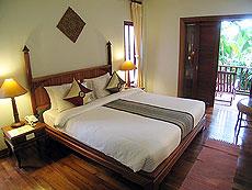プーケット ヴィラコテージのホテル : カオラック パーム ビーチ リゾート(1)のお部屋「デラックス マウンテン」