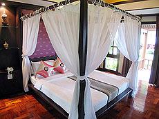 プーケット ヴィラコテージのホテル : カオラック パーム ビーチ リゾート(1)のお部屋「デラックス ジャグジー」