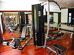 Fitness Gym : Khaolak Merlin Resort, Khaolak, Phuket