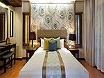 プーケット カップル&ハネムーンのホテル : カオラック メルリン リゾート(Khaolak Merlin Resort)のスーペリア(シングル)ルームの設備 Bedroom